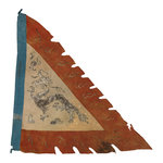 Imperial Chinese junk flag by unknown - print
