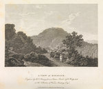 A view of Bidjegur by John Thomas Serres - print