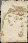 Plate from Edward Barlow's journal of his life at sea in king's ships, East & West Indiamen & other merchantmen from 1659 to 1703. by unknown - print