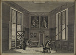The Octagon room of th Royal Observatory, Greenwich by Thomas Goldsworth Dutton - print