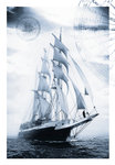 Barque 'Lord Nelson' at 50th Anniversary Tall Ships Race 2006 by Richard Sibley - print