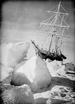 'Endurance' frozen in and forced out of the ice, during Ernest Shackleton's Imperial Trans-Antarctic Expedition of 1914-1917