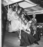 Cocktail party aboard the 'Chusan' by Marine Photo Service - print