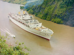 'Oriana' Passing through the Panama Canal by Marine Photo Service - print