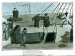 Mr B on the Middle Watch - cold blows the wind & the rain's coming on' by George Cruikshank - print