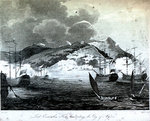 Lord Exmouth's Fleet bombarding the City of Algiers by Thomas Charles Wageman - print