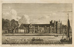 The Ancient Palace at Greenwich called Placentia, the Birth-place of Queen Elizabeth by William Havell - print