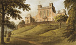 Flamsteed House (Royal Observatory, Greenwich Park) by W.H. Timms - print