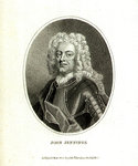 Admiral Sir John Jennings (1664-1743) by Benjamin West - print