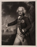 Alexander Hood, Viscount Bridport (1727-1814) by William Greatbach - print