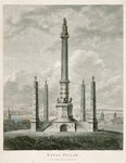 Naval pillar by Edward Hawke Locker - print