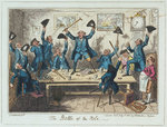The Battle of the Nile by George Cruikshank - print