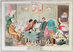 Midshipman Blockhead, Fitting out Mastr Willm Blockhead HM Ship Hellfire West India Station by George Cruikshank - print