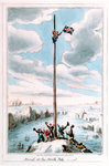 The Sailor's Progress. Arrival at the North Pole by George Cruikshank - print