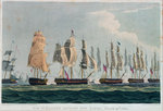 Action off Lissa, 13 March 1811 by Garneray - print