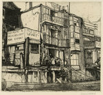 Moss's Wharf, Old Greenwich Wall Art & Canvas Prints by Graham Sutherland