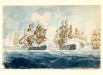 Lord Bridport's Action off L'Orient by William Lionel Wyllie - print