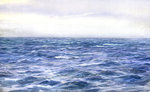 Blue Sea by James Henry Butt - print