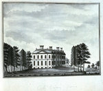 View of Cole Green House, seen from the south east by unknown - print