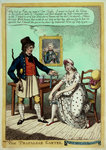 The Trafalgar Garter by George Cruikshank - print