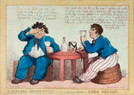 A sailor's observation on the lamented death of Lord Nelson by George Cruikshank - print