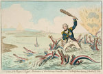 Extirpation of the Plagues of Egypt... by James Gillray - print