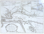 An Authentic Plan of the River St Laurence by British Admiralty - print