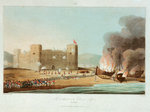 No. 12 'The attack on the fort of Luft, 27 November 1809' by Garneray - print