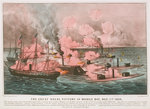 The great naval victory in Mobile Bay, 5 August 1864 by unknown - print