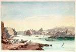 Cove of Muscat by William Lionel Wyllie - print