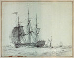The East Indiaman 'Thames' by William Lionel Wyllie - print