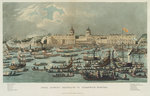 A view of Greenwich Hospital taken from the river by William Havell - print