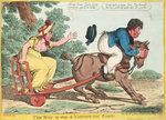 The Way to Stop a Yarmouth Cart! by S.W. Fores - print