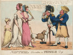 Nautical Observations on Female Dress by George Cruikshank - print