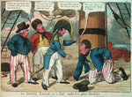 An Irish Leap, or a Pat reply to a plain Question by George Cruikshank - print