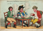 A Glee. How shall we Mortals Spend our Hours? In Love! In War. In Drinking. by George Cruikshank - print