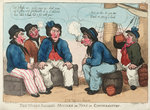 The Welch Sailor's Mistake or Tars in Conversation by Yedis - print