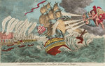 A Buckinghamshire Breeze - or an East Indiaman in Danger by George Cruikshank - print