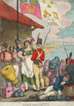 Peace and Plenty by George Cruikshank - print