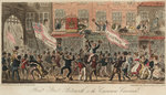 Point Steer, Portsmouth, or, the Coxwain Carousal by George Cruikshank - print