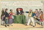 Melancholy Loss of the Medal (Sir Charles Napier) by George Cruikshank - print