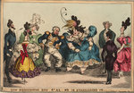 Run Neighbours Run - St A1-n's is Quadrilling it by George Cruikshank - print
