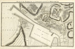 Plan of the harbour and fortifications of Boulogne by Edward Hawke Locker - print