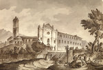 Convent near Bastia, Corsica by Willem Van de Velde the Younger - print