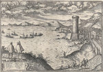 Mola near Gaeta, circa 1580 by Edward Hawke Locker - print