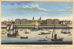 A view of the Royal Hospital at Greenwich by J. Harris - print