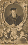 John Russel. The First Earl of Bedford 1549 by C. Lempriere - print