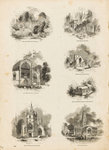 Page from Charles Knight's 'Old England: A Pictorial Museum' by James Cundee - print