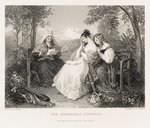 'The Agreeable Surprise', detail by John Francis Rigaud - print