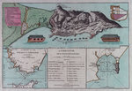 Plan of Gibraltar Wall Art & Canvas Prints by Romeyn de Hooghe